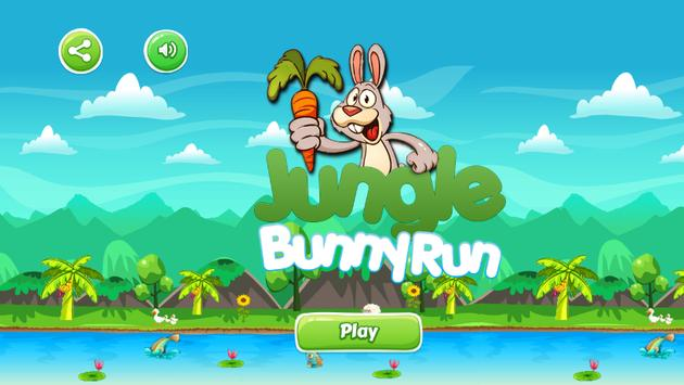 Jungle Bunny Run poster