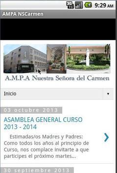 AMPA NSCarmen poster