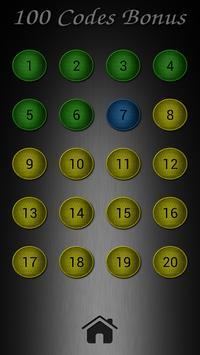 100 Codes Bonus apk screenshot