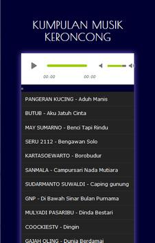 KUMPULAN MUSIK KERONCONG HEBOH apk screenshot