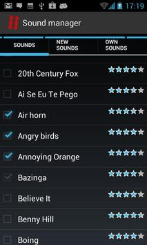 Instant sounds screenshot 1