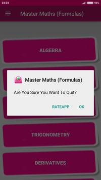 Master Maths (Formulas) screenshot 6