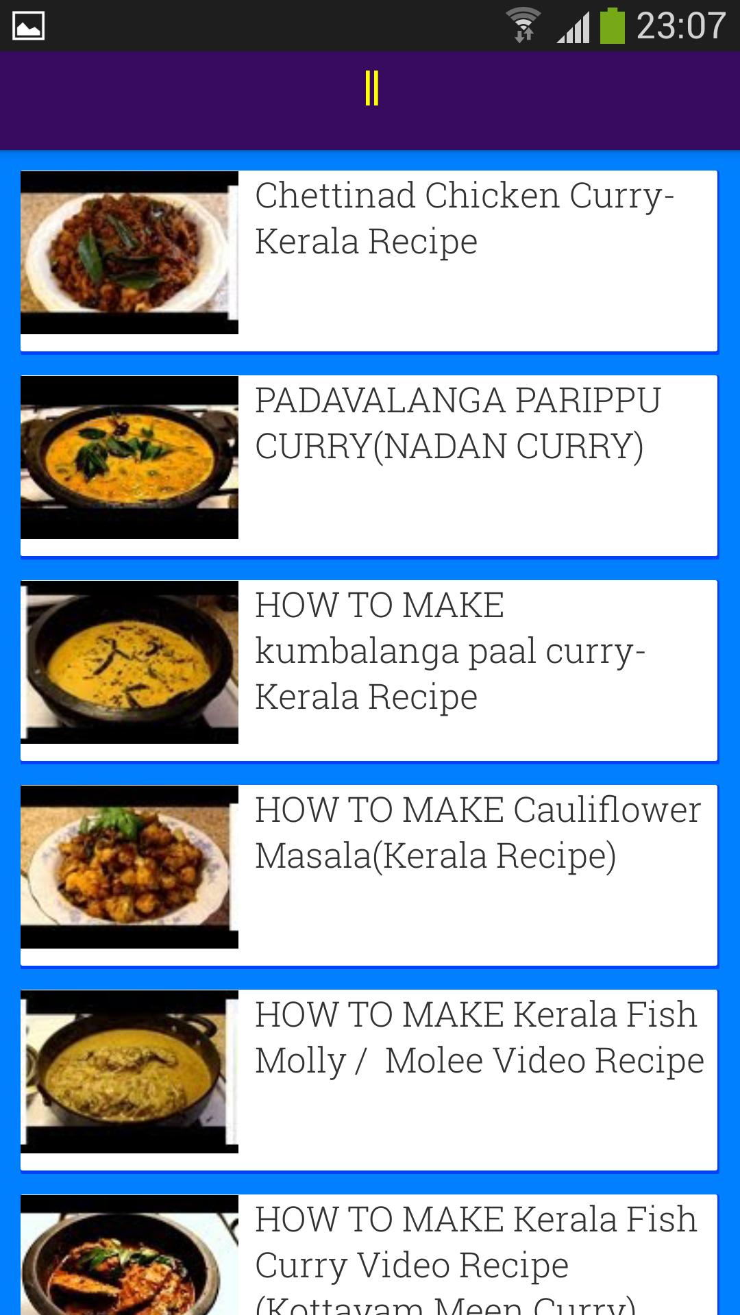 Kerala Recipes Tube for Android - APK Download