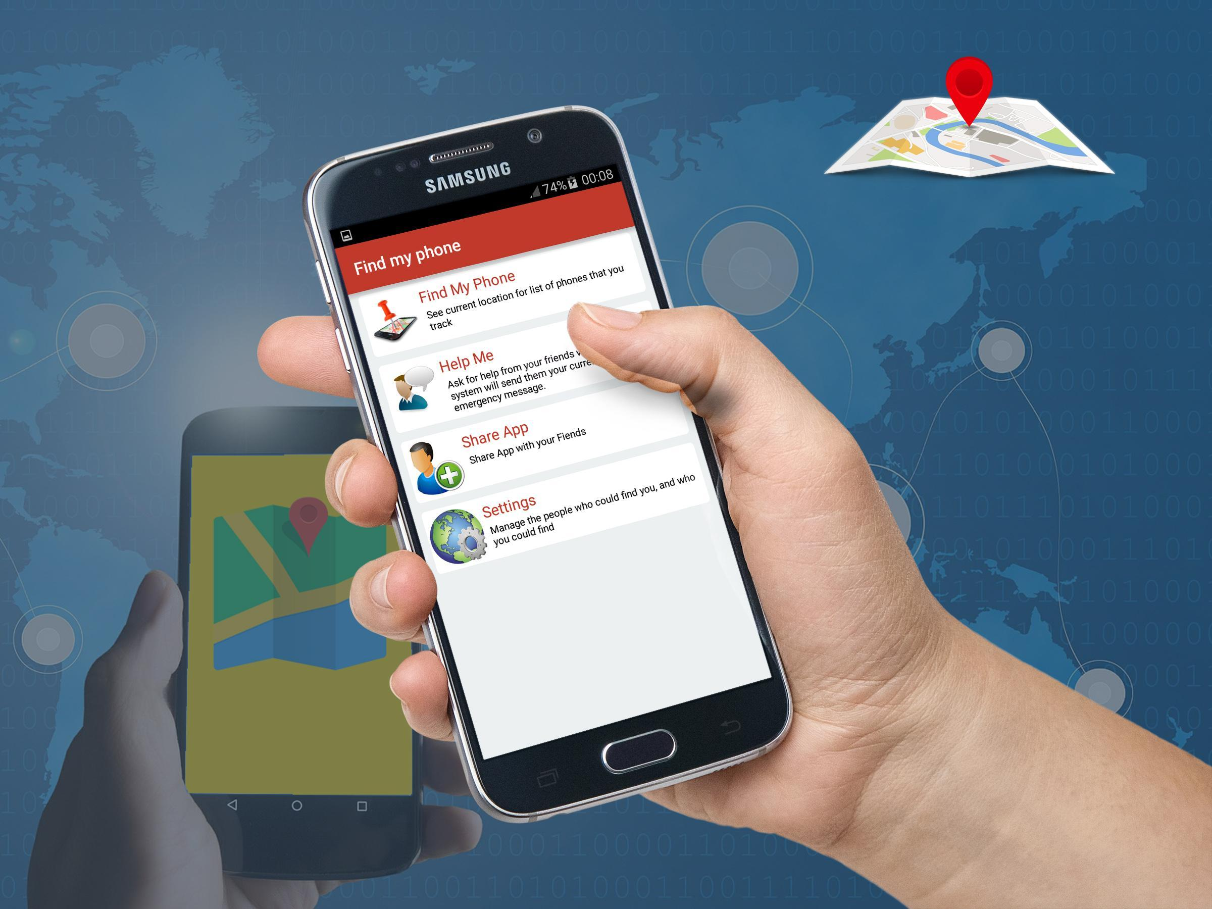 Find My Phone Lite (SMS / GPS) for Android - APK Download