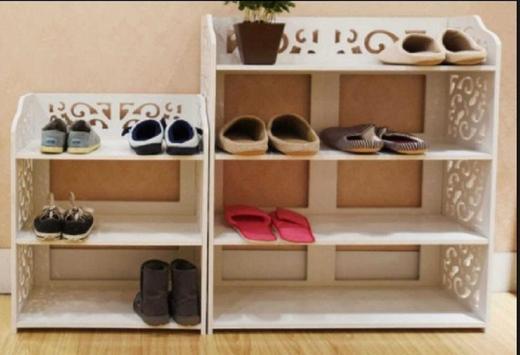 shoe rack design screenshot 12