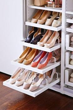 shoe rack design screenshot 2