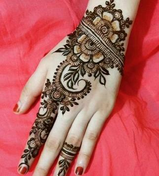 simple mehndi design screenshot 2