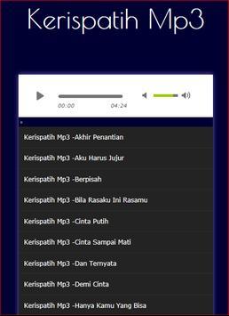 Lagu Kerispatih Lengkap screenshot 1