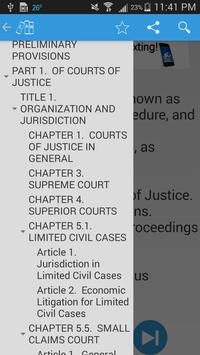 LawSmith - California Law apk screenshot
