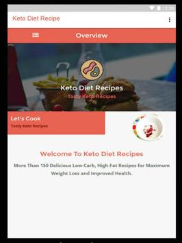 Keto Diet Recipes - Ketogenic poster