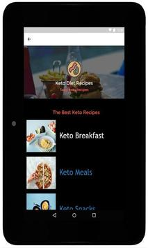 Keto Diet Recipes - Ketogenic screenshot 1