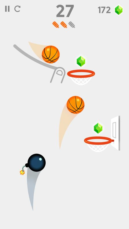 Line Art Apk : Dunk line for android apk download