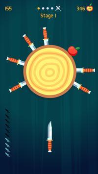 Knife Hit Poster