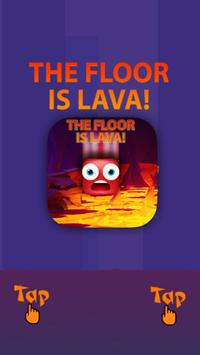 The Floor is Lava 2018 poster
