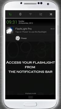 Flashlight Pro apk screenshot