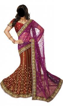 woman sarees photography poster