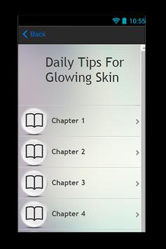 Daily Tips For Glowing Skin apk screenshot