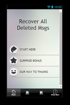 Recover All Deleted Msgs Guide poster