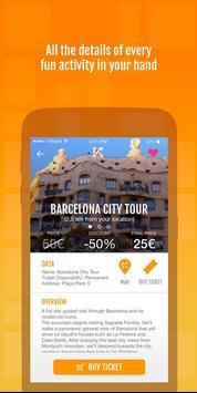KETSAPP – Barcelona Experiences & Attractions apk screenshot