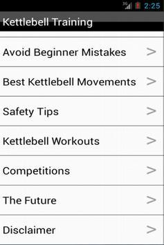 Kettlebell Training - Workout apk screenshot