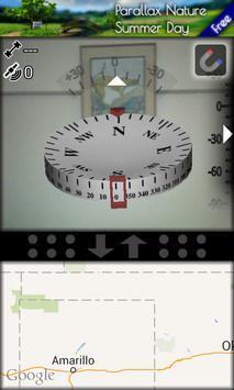 Transparent GPS Compass screenshot 2