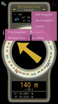 GPS Waypoint Finder apk screenshot
