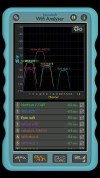Wifi Analyser screenshot 1