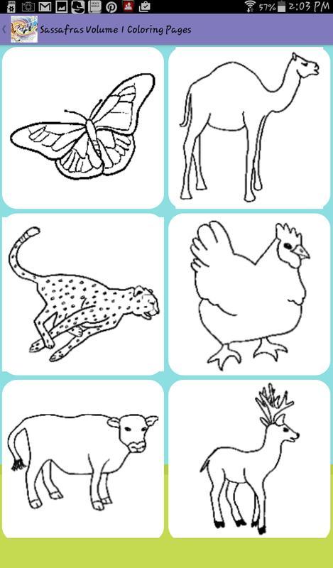 Sassafras Zoology Coloring App APK تحميل - مجاني تعليم تطبيق ...