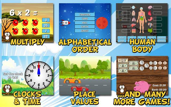 Second Grade Learning Games Free screenshot 1