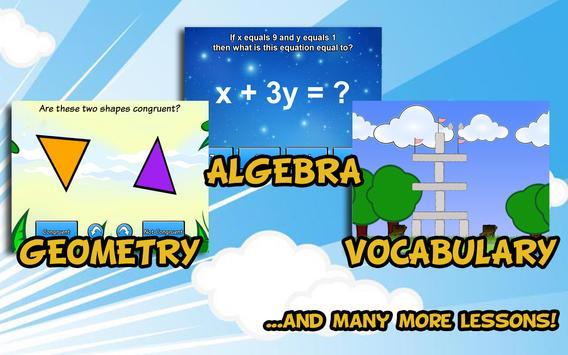 Sixth Grade Learning Games apk screenshot