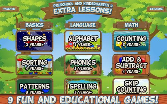 Preschool and Kindergarten 2: Extra Lessons screenshot 10