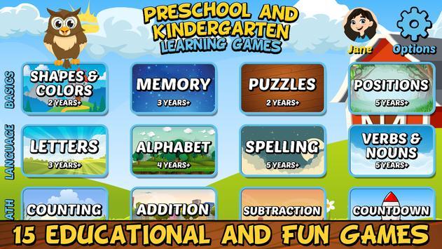 Preschool and Kindergarten Learning Games screenshot 10