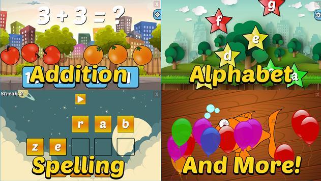 Preschool and Kindergarten Learning Games screenshot 1