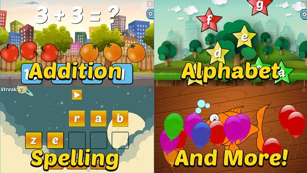 Preschool And Kindergarten Learning Games Apk Screenshot