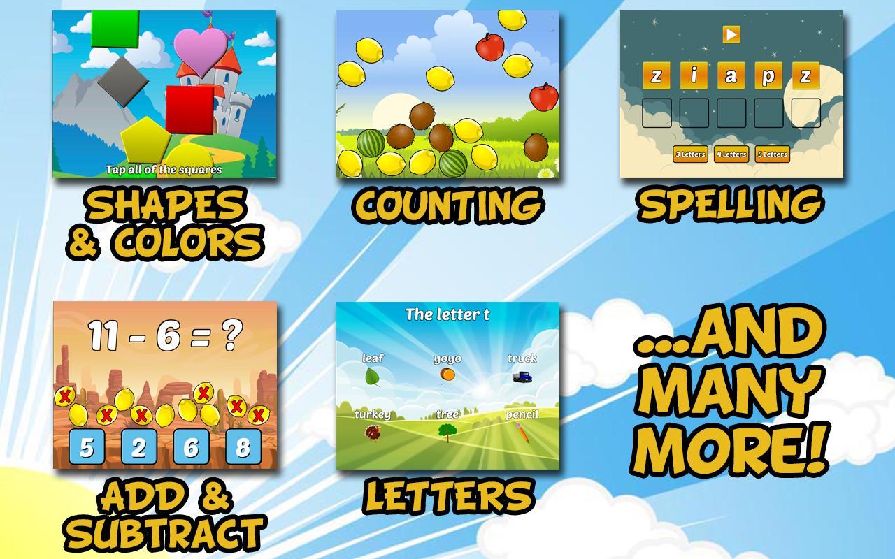 free preschool games to download preschool and kindergarten learning apk 342