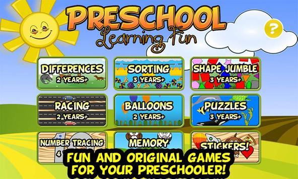 Preschool Learning Fun poster
