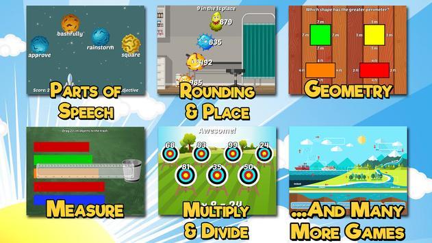 Third Grade Learning Games screenshot 1