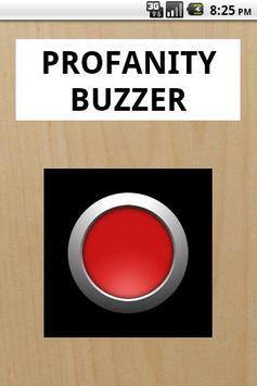 Profanity Buzzer poster
