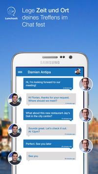 Lunchzeit Business Networking apk screenshot