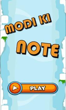 Modi Ki Note Game poster