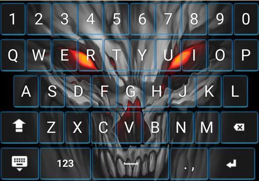 Keyboard Theme Fire Skull Apk Download Free Personalization App