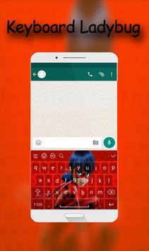 Keyboard Ladybug poster