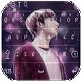 Keyboard BTS wallpaper theme HD