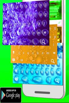 Water Keyboard Theme HD apk screenshot