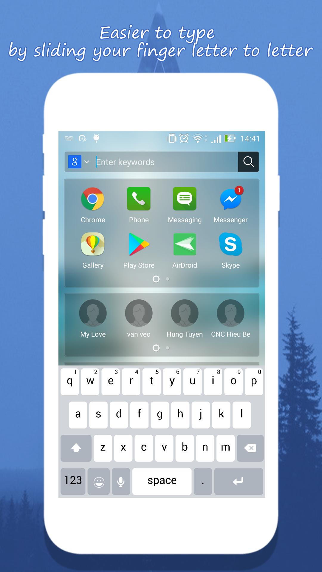 Keyboard for IOS 11 for Android - APK Download