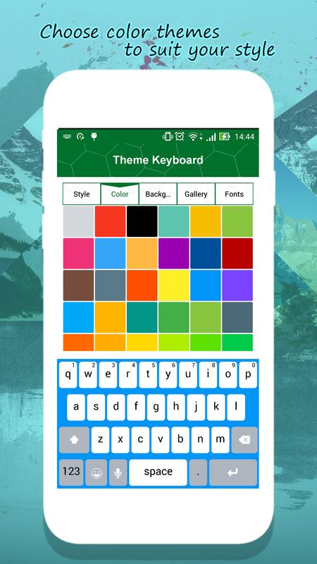 ios 11 keyboard for android