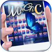 Magic Butterfly Keyboard Theme icon