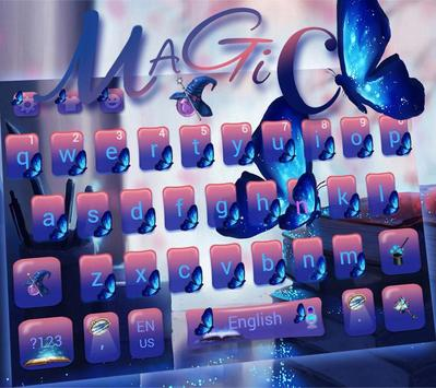 Magic Butterfly Keyboard Theme screenshot 1