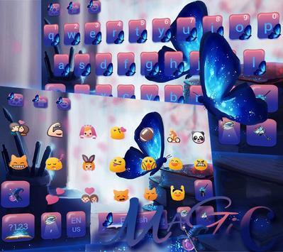 Magic Butterfly Keyboard Theme screenshot 2