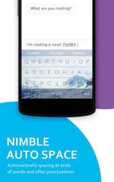 Nimble Keyboard скриншот 3